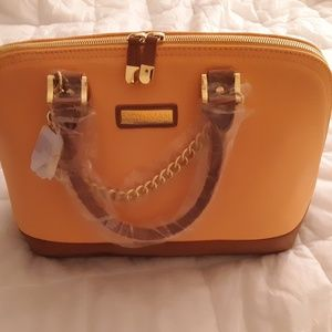 Joy & Iman Dome Satchel